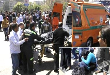 Cairo Bomb Blast kills Boliceman, ( islamist Militant Has Been killed by The Security Forces )