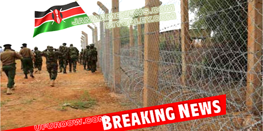 Kenya Completes Border Fence With Somalia